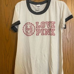 PINK brand tee size L
